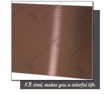 High demand export products brushed stainless steel sheet manufacturing company