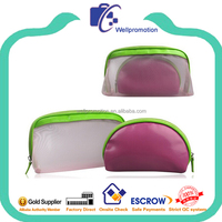 Fashion cheap promotional ladies travel cosmetic bag set