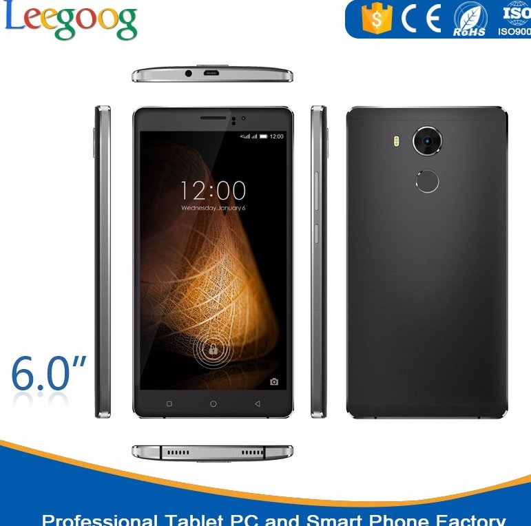 Mobile phone prices 6 inch MTK6580 quad core 1G android phone