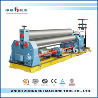W11-6X1500 3 Rolls Small Sheet Roller Bending Machine