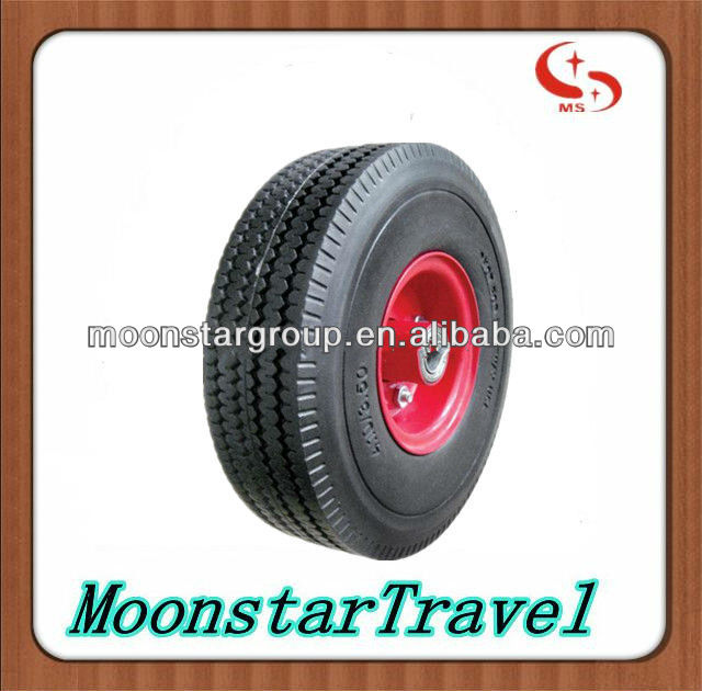 wheelbarrow tire 4.10/3.50-4 solid wheel