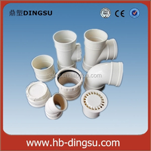 cheapest price plastic sewer and drain pipe fittings