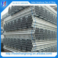 Stainless steel thin wall galvanized steel 6 inch pipe