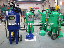 Free shiping Manufacture for High efficiency Glass blasting machine