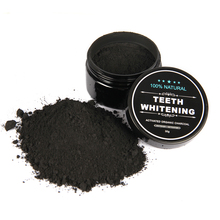 New Professional Teeth Whitening Charcoal Powders Easy to Use Tooth Cleaning Powder 30g