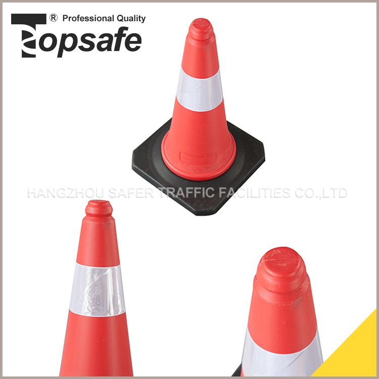 2016 New Products 50CM HDPE RUBBER plastic cone shape