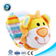 Infant Soft Toy Animal Wrist Rattle Developmental Toys Baby Safety Toy