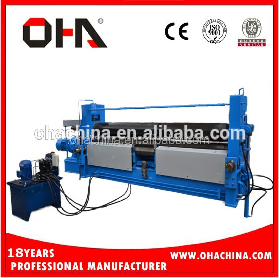 "OHA"" Brand <strong>W11s</strong> 25*6000 Hot sale 3 roller bending <strong>machine</strong> with CE"