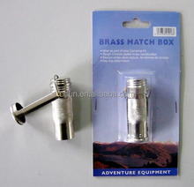 Old-fashioned waterproof small match safe