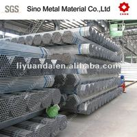 galvanized pipe for greenhouse frame