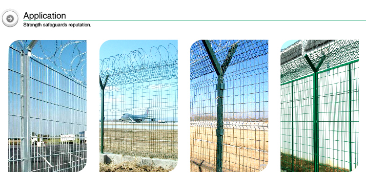 Top grade hot dip galvanized steel used chain link fence for sale