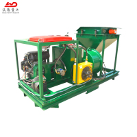 China shotcrete concrete pump spray machine concrete sprayer on walls