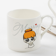 wholesale fine bone china porcelain white sublimation coffee mug cup