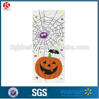 New Market! Plastic Pumpkin Pals Halloween Cello Bag