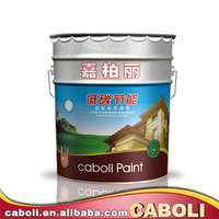 Caboli latest building materirals high quality house paint pearl white paint