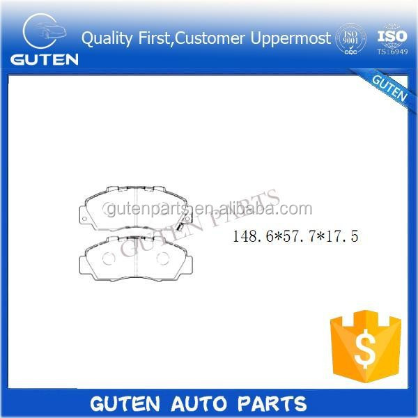 KS, ISO9001, ECE-R90 Certification and Brake Pads Type brake pad GDB3177 GDB3196 45022-L0G00