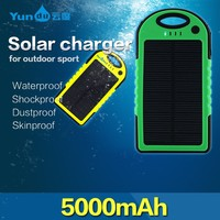 OEM ODM Cheap china manufacture solar power bank For iphone portable charger