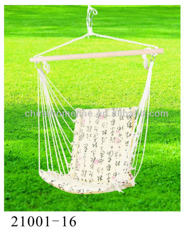 printing cotton hammock chair 21001-16