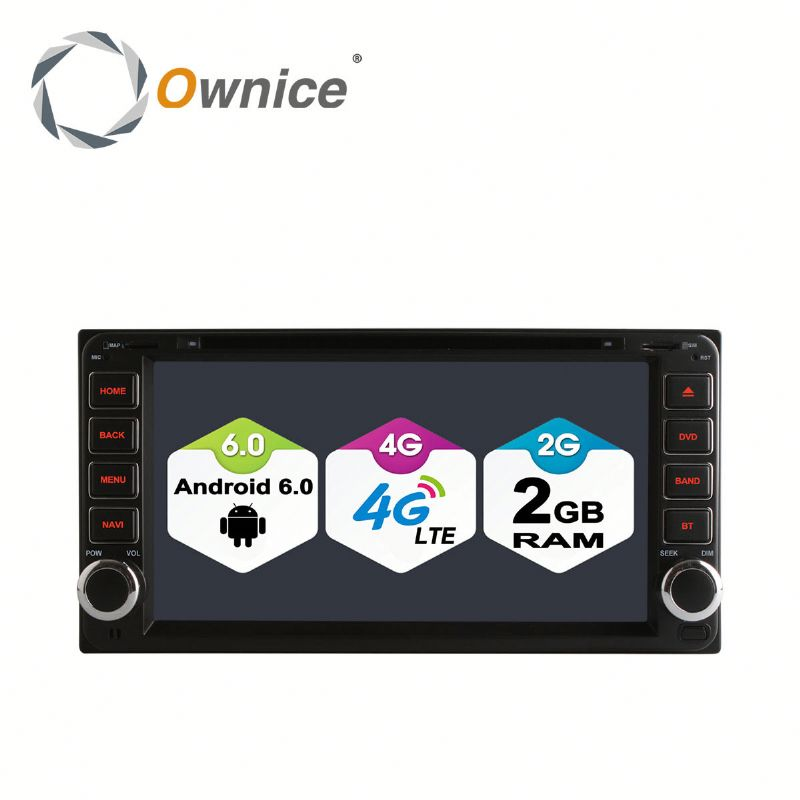 Ownice C500 Android 6.0 Octa core double din universal Car DVD stereo for toyota universal support DVR TV 4G LTE DAB+ Tunner