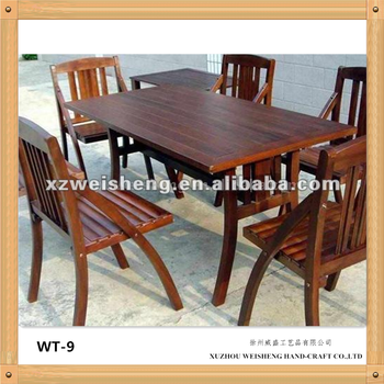 Dining Table and Chairs (1+6)