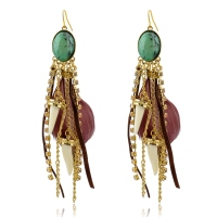 Wholesale Jewellery Dangling Traditional Indian Earring with Crystal