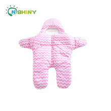 2018New Arrival Starfish Winter Baby Sleep Sack Warm Baby Blanket Swaddle Sleeping Bag Kid Indoor and Outdoor Life