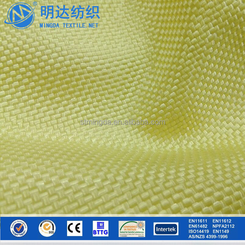 Mingda high temperature resistance bullet proof para aramid fabric for military use