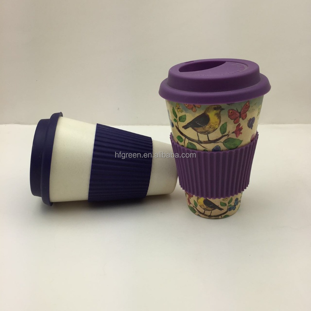 100% natural bamboo drinking <strong>cup</strong> Bamboo Fiber take away Coffee <strong>Cup</strong>