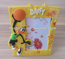 Basketball PVC photo frame, customize sports picture frame for promotion(BT-AL-PF-14114-95)