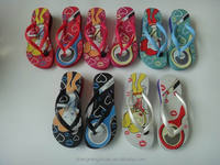 2014 new women FLIPFLOP sandals with PVC strap