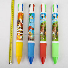BIG PEN Good stationery colorful grip multi function ball pen