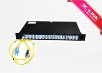 128 DWDM Fiber Optic MUX DEMUX Wavelength Division Add Drop Multiplexer