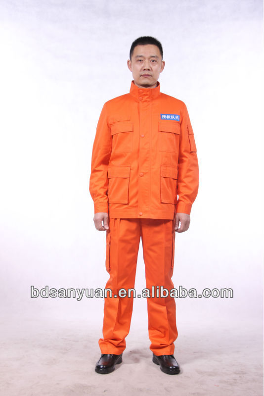 fire retardant workwear /clothing flame retardant coat and trousers