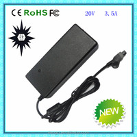 B772 for dell ac adapter 20v 3.5a 3 hole