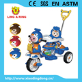 Cheap children tricycle new models with music and light and roof and hot sale models