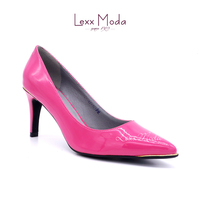 Candy color classic dress pink women high heel shoes