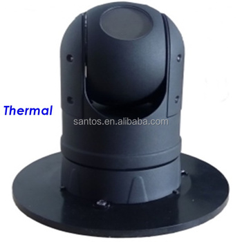 360 degree rotation outdoor thermal PTZ camera