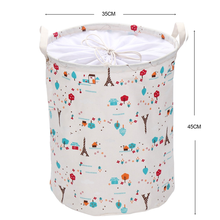 High Quality Foldable Canvas Cloth storage basket