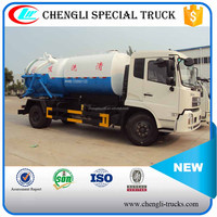 Dongfeng 4x2 New Model Sewage(Fecal) Collecting Truck Vacuum Cleaner Truck
