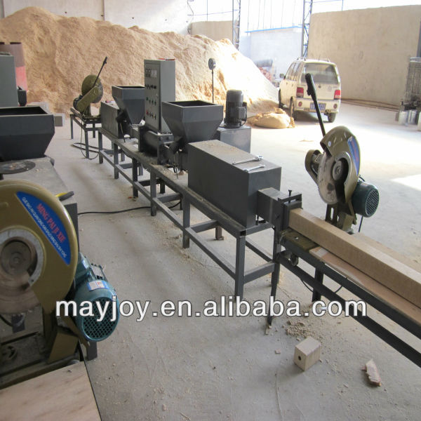 wood Pallet making machine/high quanlity sawdust hot press machine/Pallet making machine