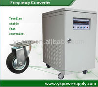 high quality variable 50hz/60hz to 400hz frequency inverter