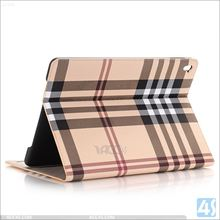 High Quality Grid Pattern PU Flip Leather Wallet Case for APPLE iPad Pro 9.7( Air 3)