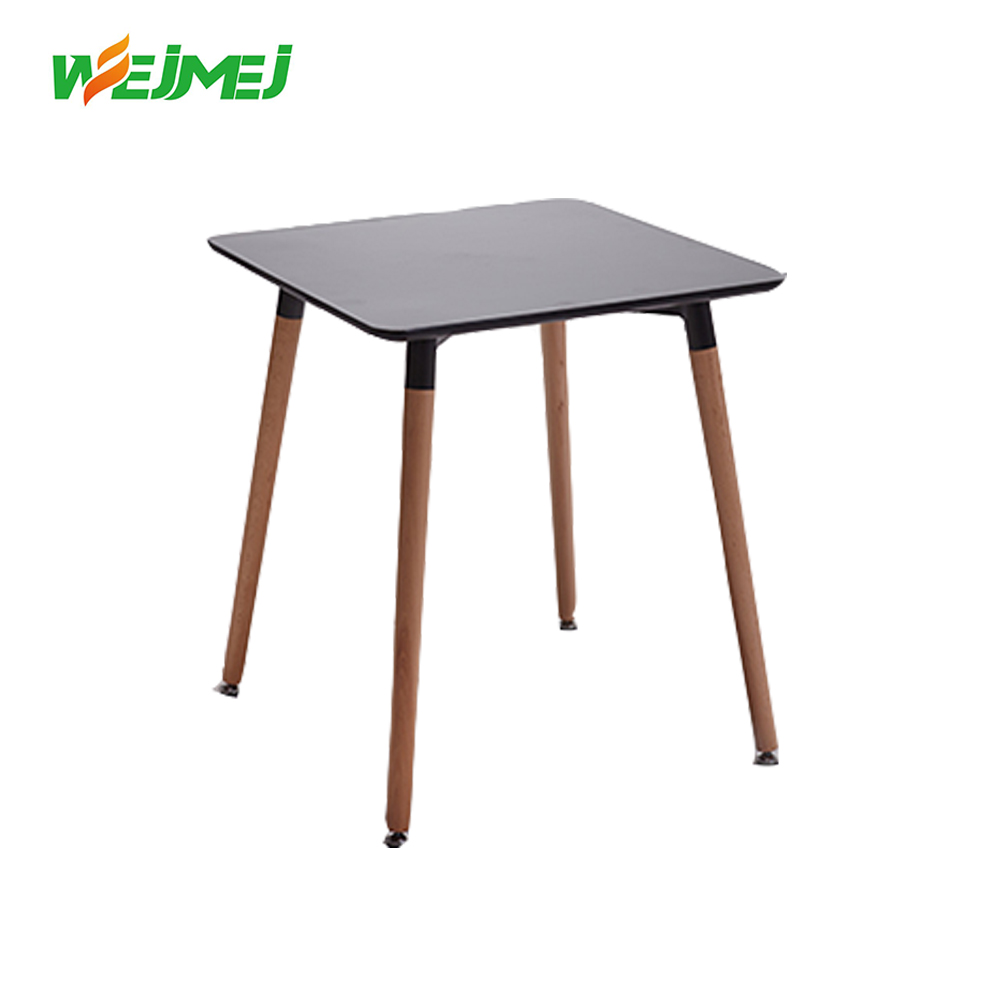 modern fancy whosale wood material dining table