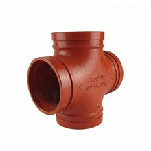 Manufacturer supply factory resinsand casting ductile iron pipe fittings