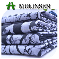 Mulinsen Textile High Quality Printed Poplin Combed Cotton Jersey Fabric Wholesale