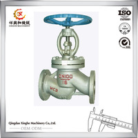 Advanced machines Z41H-16C Gost Cuniform WCB carbon steel gate valve