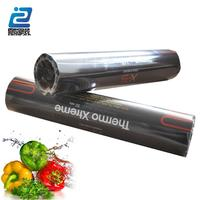 black LDPE cling film/food wrap/plastic stretch film for food grade
