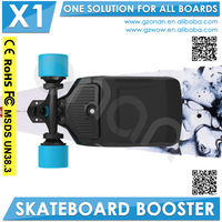 Dual Electric Motor Plastic skateboard Booster
