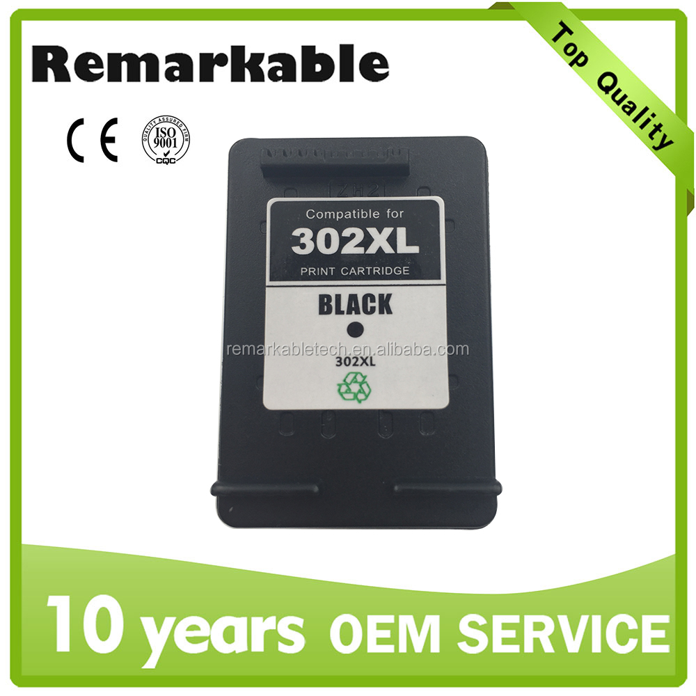 For HP Remanufactured ink cartridge 302XL wholesale 302XL in China