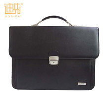 Guangzhou wholesale fashion handmade business PU leather briefcase for men
